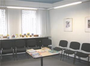 Wartezimmer Praxis Trier